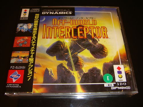 Off-World Interceptor Panasonic 3DO Japan NEW